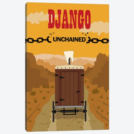 Django Canvas Print #CSR13} by Chris Richmond Canvas Art Print