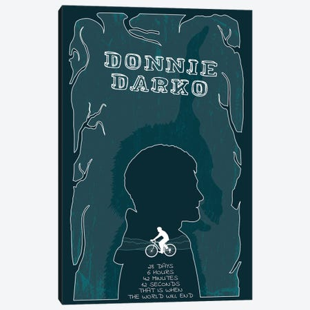 Donnie Darko Canvas Print #CSR14} by Chris Richmond Canvas Artwork