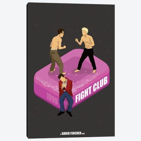 Fight Club Canvas Print #CSR18} by Chris Richmond Art Print