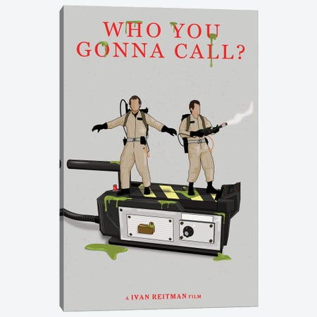 Ghostbusters Canvas Print #CSR21} by Chris Richmond Canvas Wall Art