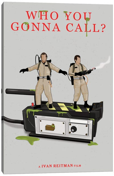 Ghostbusters Canvas Art Print