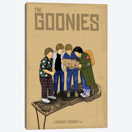 Goonies Canvas Print #CSR22} by Chris Richmond Canvas Artwork