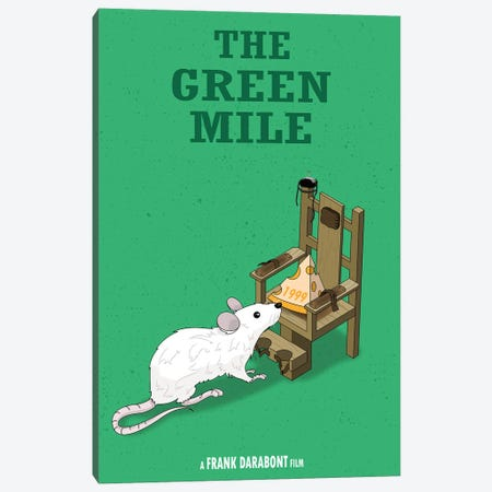 Green Mile Canvas Print #CSR25} by Chris Richmond Art Print