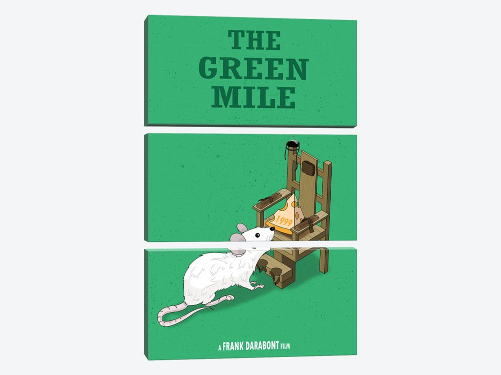 Green Mile by Chris Richmond 3-piece Canvas Art