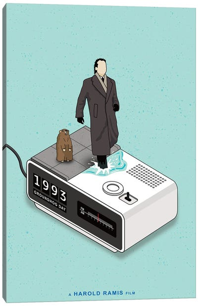 Groundhog Day Canvas Art Print