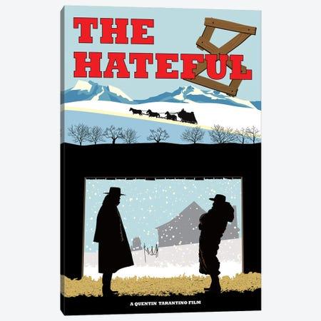 Hateful 8 Canvas Print #CSR27} by Chris Richmond Canvas Print