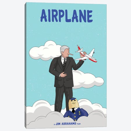 Airplane Canvas Print #CSR2} by Chris Richmond Art Print