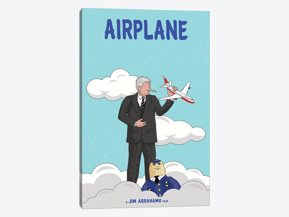 Airplane by Chris Richmond 1-piece Canvas Wall Art