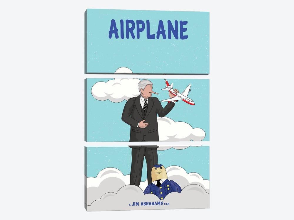 Airplane by Chris Richmond 3-piece Canvas Wall Art