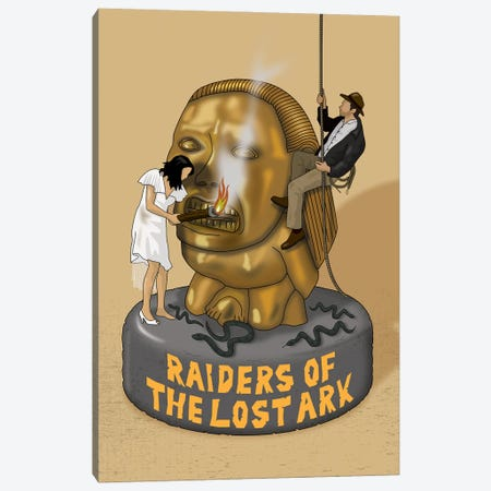 Indiana Raiders Of The Lost Ark Canvas Print #CSR31} by Chris Richmond Art Print