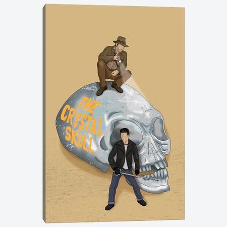 Indiana The Crystal Skull Canvas Print #CSR32} by Chris Richmond Canvas Print