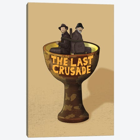 Indiana The Last Crusade Canvas Print #CSR33} by Chris Richmond Canvas Print