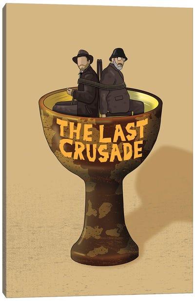 Indiana The Last Crusade Canvas Art Print