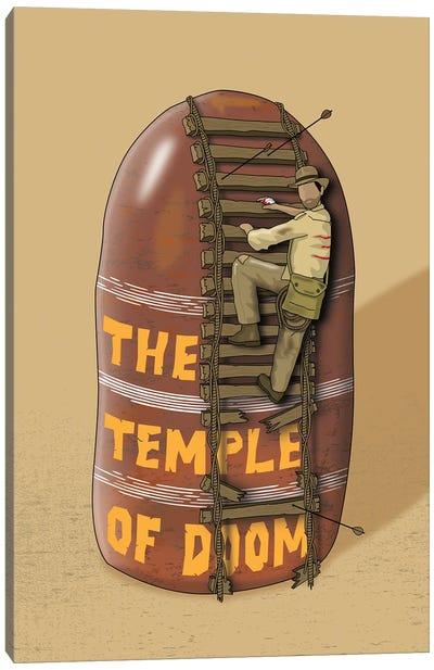Indiana Temple Of Doom Canvas Art Print
