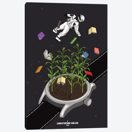 Interstellar Canvas Print #CSR35} by Chris Richmond Canvas Wall Art