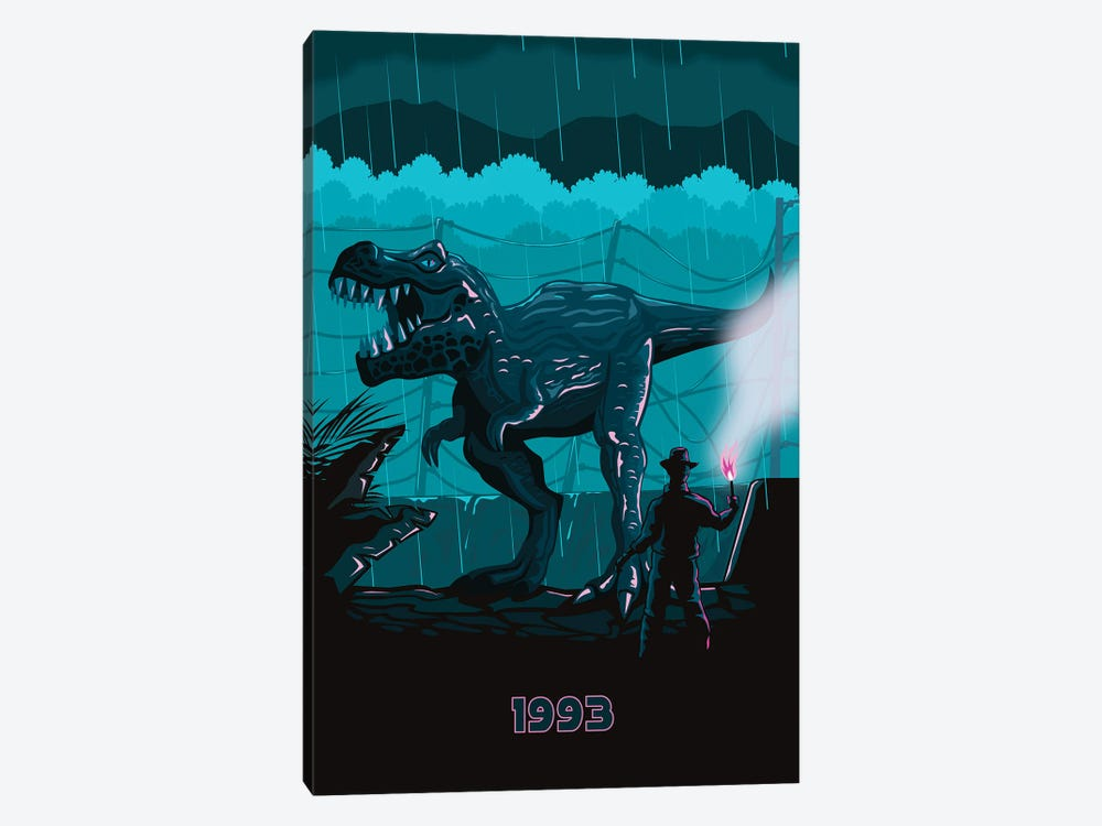 Jurrasic Park I 1-piece Canvas Wall Art