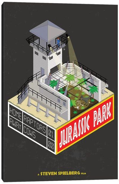 Jurrasic Park II Canvas Art Print
