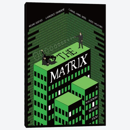 Matrix I Canvas Print #CSR43} by Chris Richmond Canvas Artwork