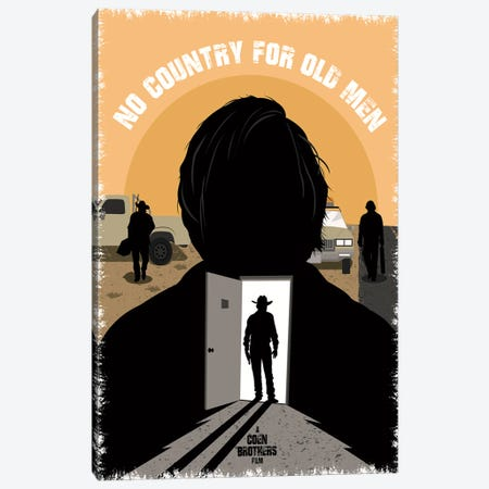No Country For Old Men Canvas Print #CSR46} by Chris Richmond Canvas Print
