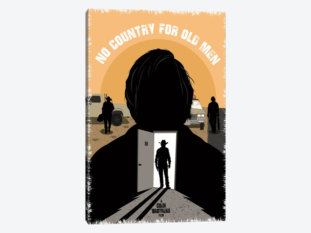 No Country For Old Men by Chris Richmond 1-piece Art Print