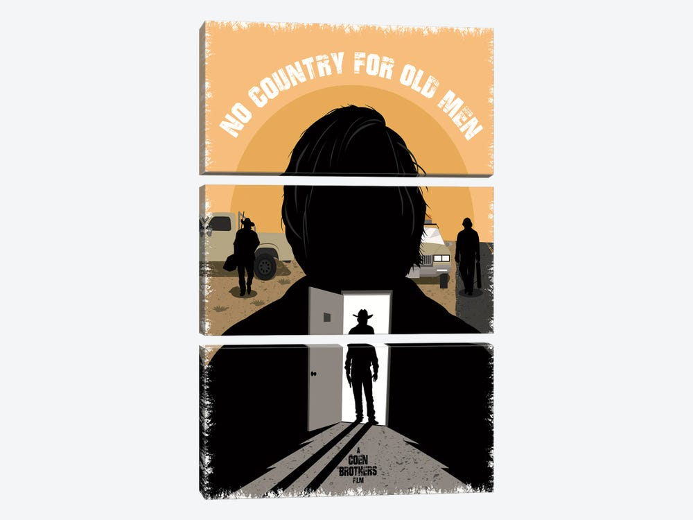 No Country For Old Men by Chris Richmond 3-piece Art Print