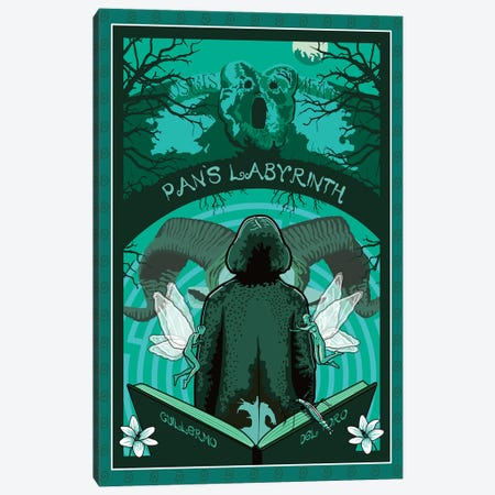 Pans Labyrinth 3-Piece Canvas #CSR47} by Chris Richmond Canvas Art Print