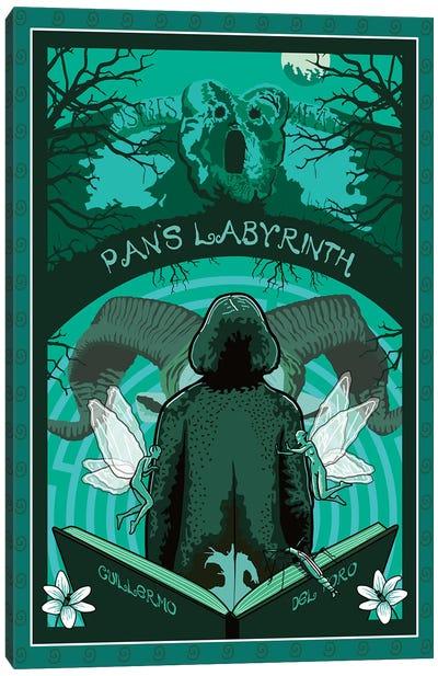 Pans Labyrinth Canvas Art Print