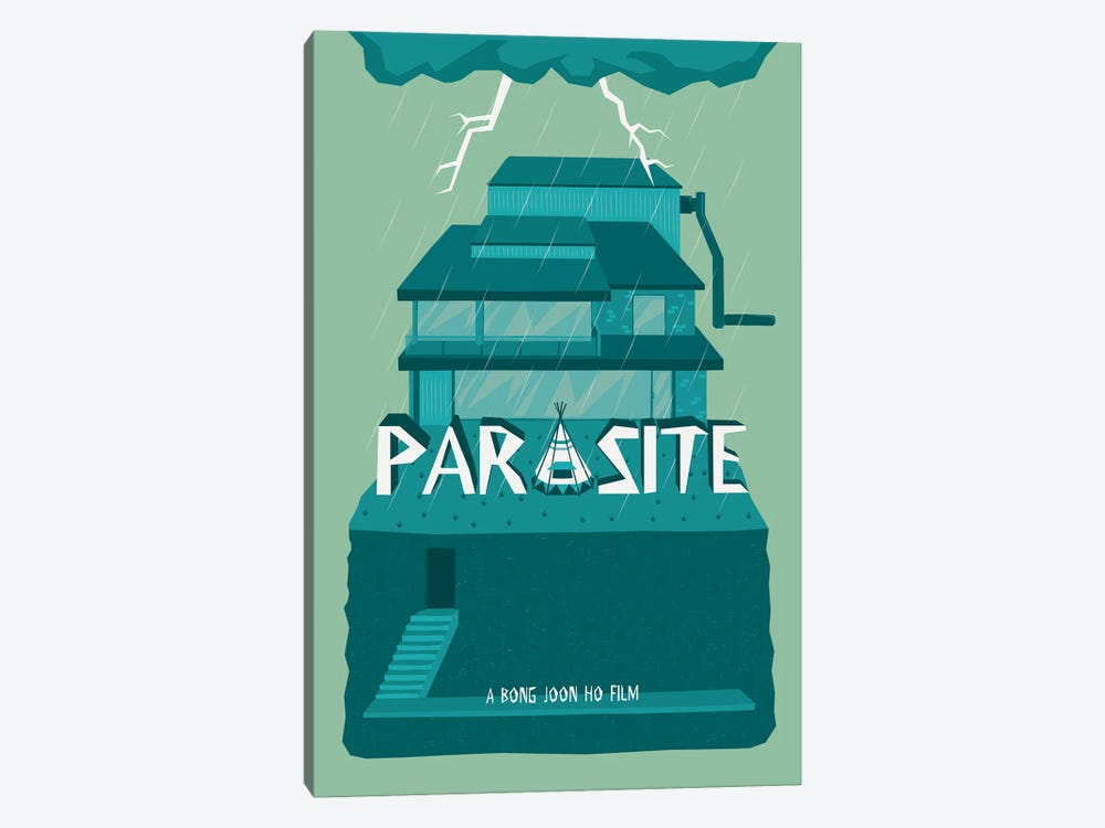 Parasite 1-piece Canvas Art Print
