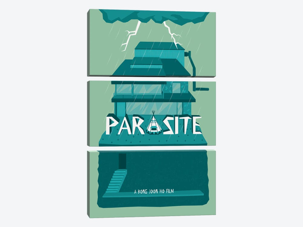 Parasite by Chris Richmond 3-piece Art Print