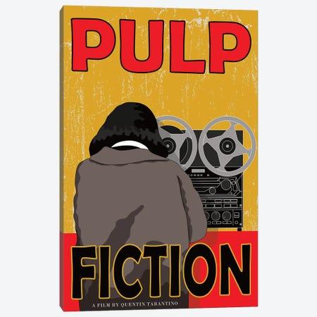 Pulp Fiction Canvas Print #CSR49} by Chris Richmond Canvas Artwork