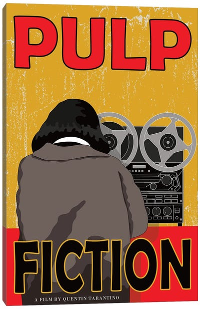 Pulp Fiction Canvas Art Print