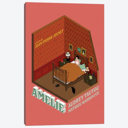 Amelie 3-Piece Canvas #CSR4} by Chris Richmond Canvas Wall Art