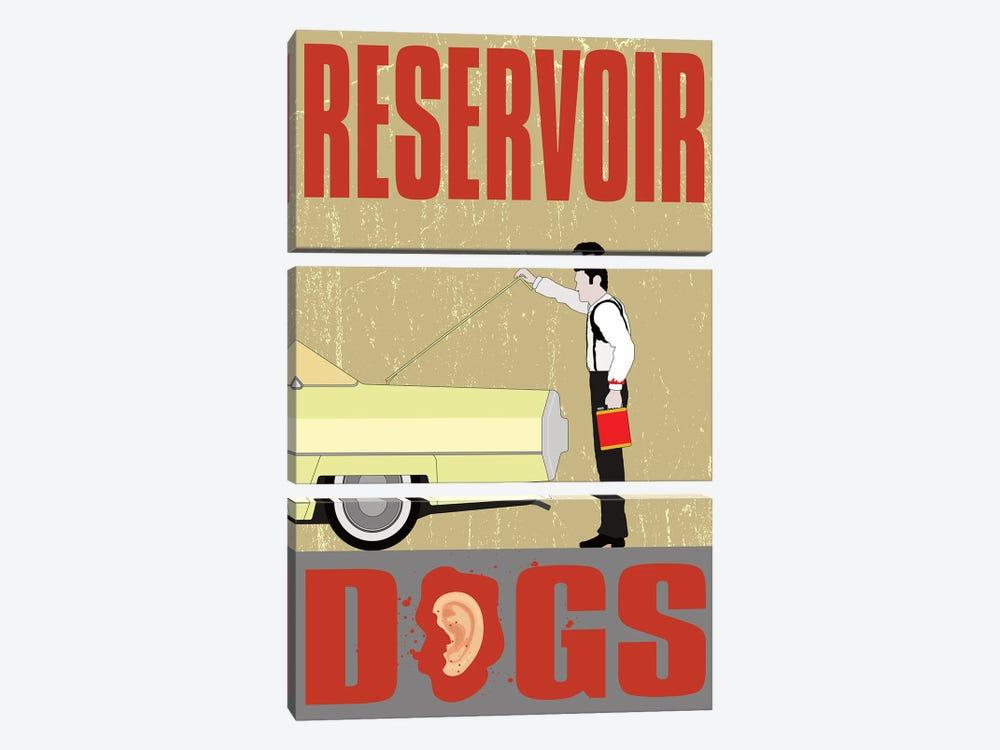 Reservoir Dogs by Chris Richmond 3-piece Canvas Artwork