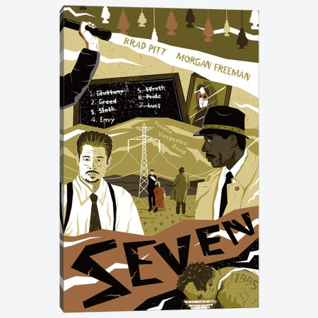 Seven Canvas Print #CSR53} by Chris Richmond Canvas Art Print