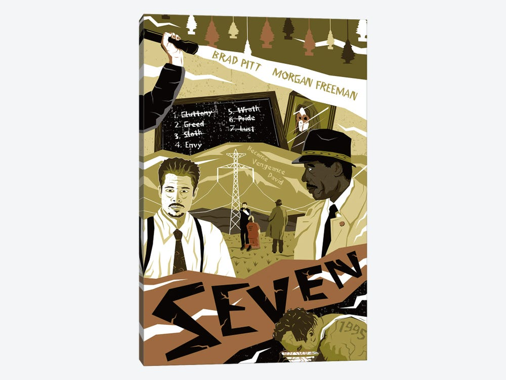 Seven by Chris Richmond 1-piece Canvas Print