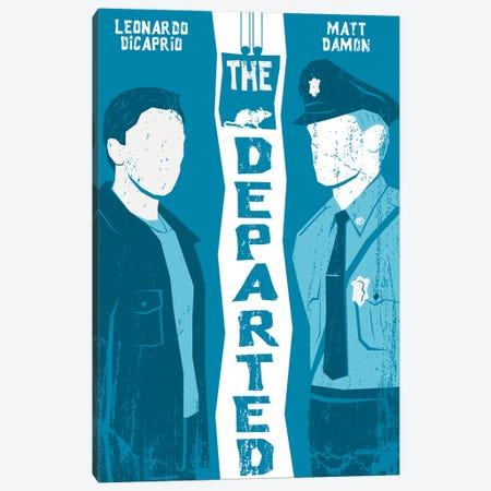The Departed Canvas Print #CSR56} by Chris Richmond Canvas Artwork