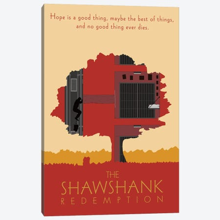The Shawshank Redemption Canvas Print #CSR59} by Chris Richmond Canvas Print