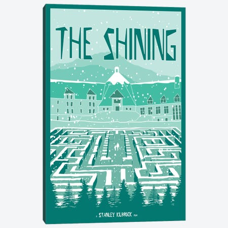 The Shining I Canvas Print #CSR60} by Chris Richmond Canvas Art