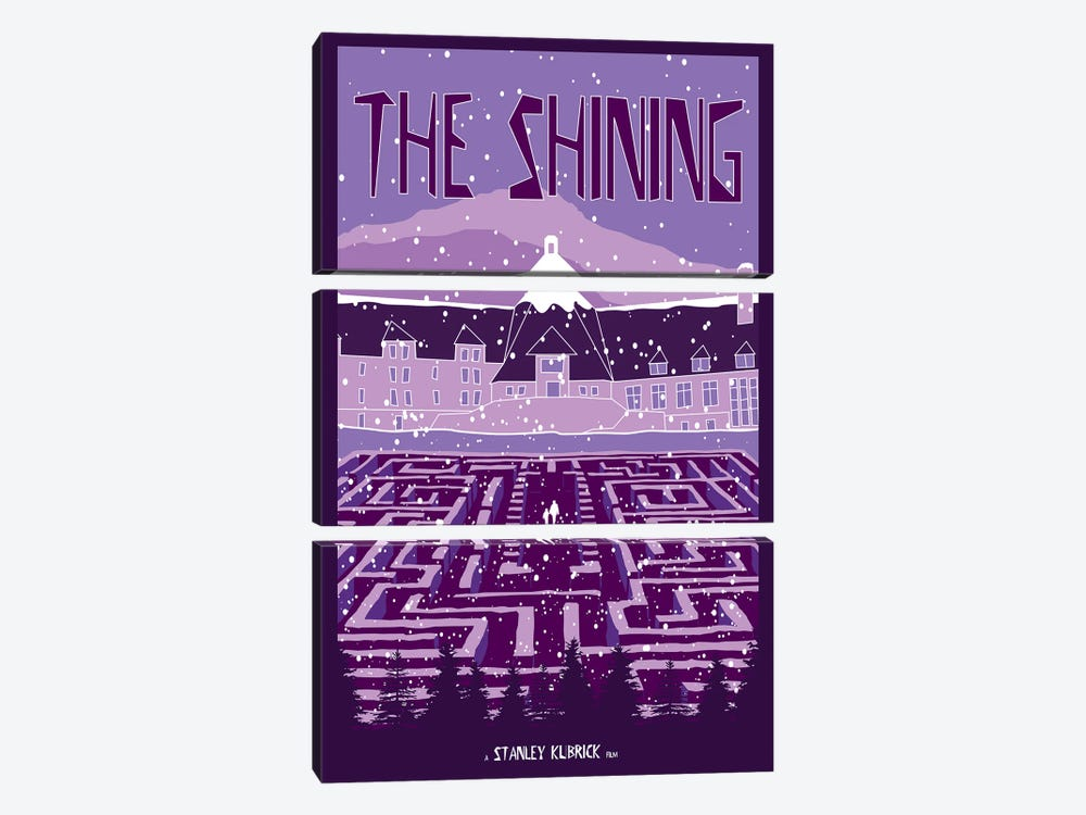The Shining II by Chris Richmond 3-piece Canvas Artwork