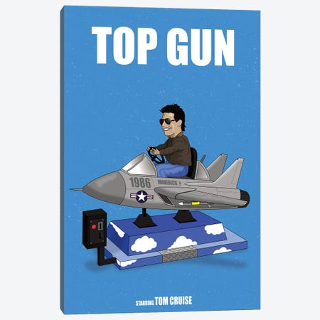 Top Gun Canvas Print #CSR62} by Chris Richmond Canvas Art