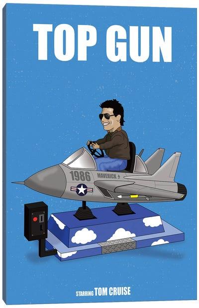 Top Gun Canvas Art Print