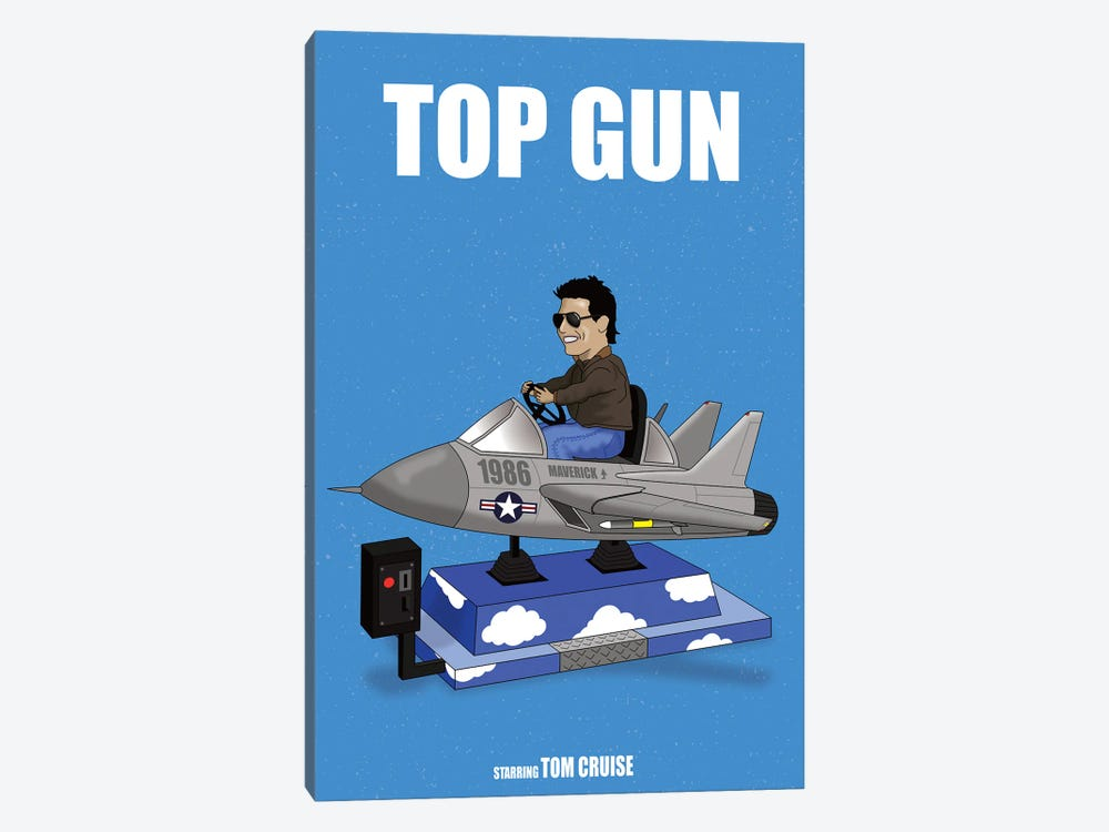 Top Gun by Chris Richmond 1-piece Canvas Art Print