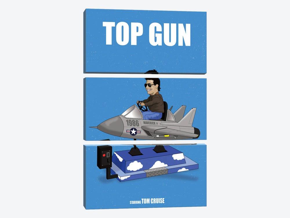 Top Gun by Chris Richmond 3-piece Canvas Art Print