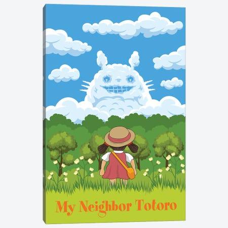 Totoro Canvas Print #CSR63} by Chris Richmond Canvas Artwork