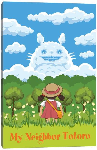 Totoro Canvas Art Print
