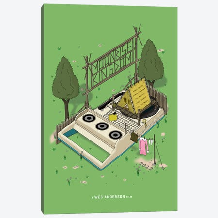 Moonrise Kingdom Canvas Print #CSR65} by Chris Richmond Canvas Print