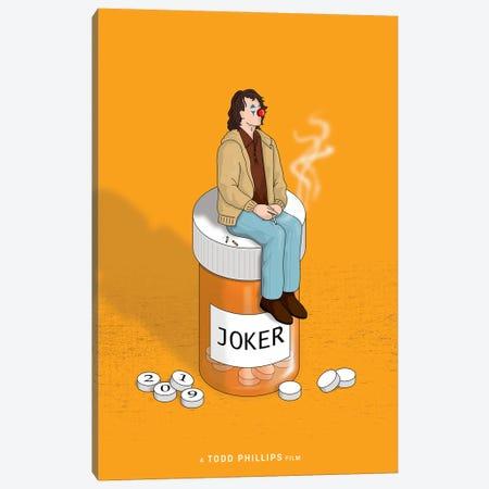 Joker Canvas Print #CSR66} by Chris Richmond Art Print