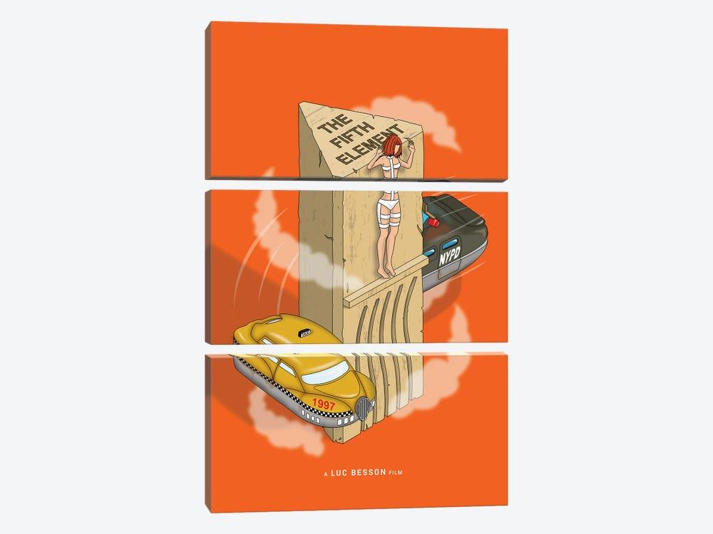 Fifth Element by Chris Richmond 3-piece Canvas Art