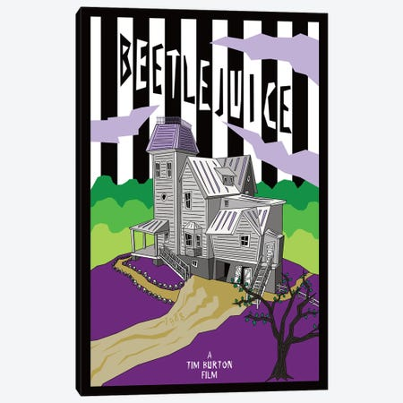 Beetlejuice Canvas Print #CSR6} by Chris Richmond Canvas Artwork