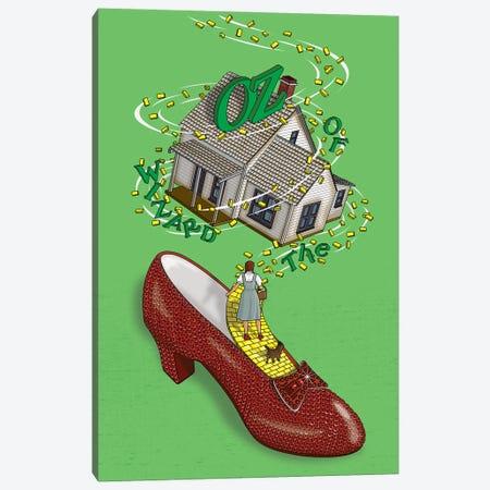 Wizard of Oz Canvas Print #CSR74} by Chris Richmond Canvas Artwork